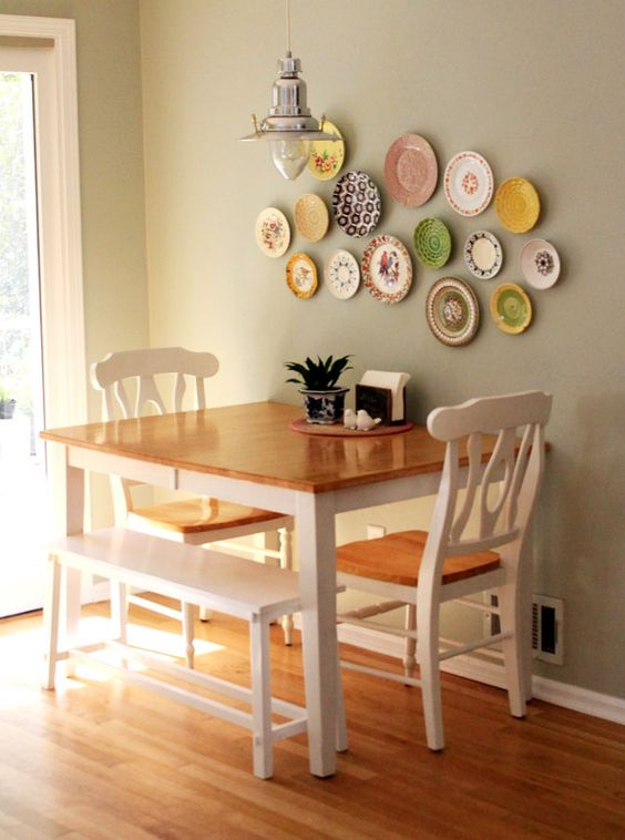 decorating walls with dishes7