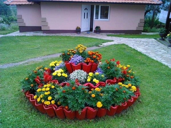 flower beds ideas (14)