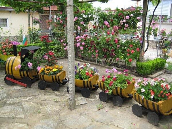 flower beds ideas (8)