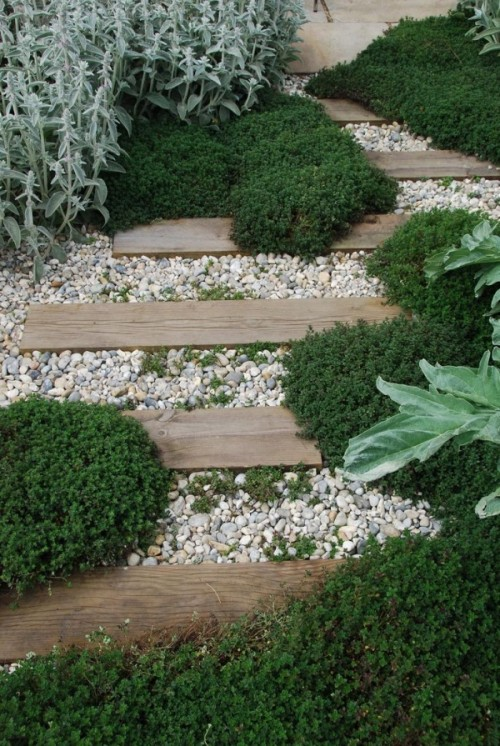 garden paths with wood10