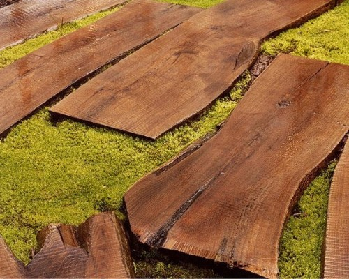garden paths with wood19