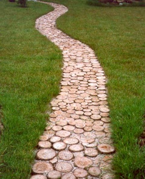 garden paths with wood6
