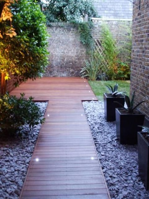 garden paths with wood7