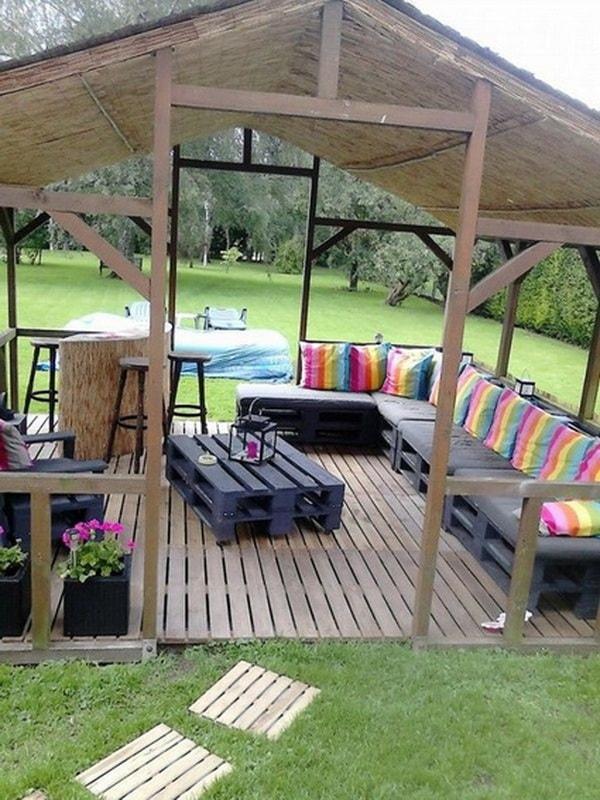 pallet furniture ideas (10)