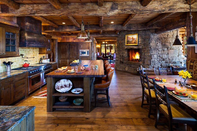 rustic kitchen ideas1