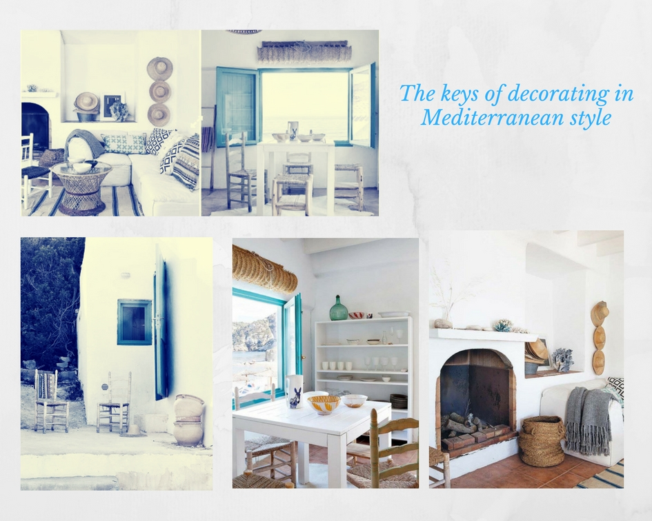 The keys of decorating in Mediterranean style