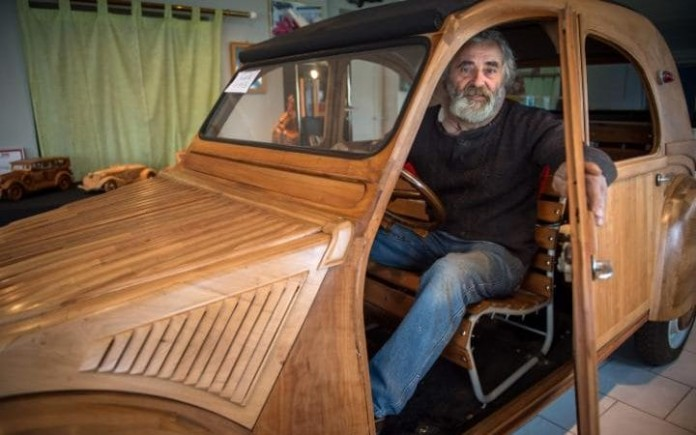real car from wood1