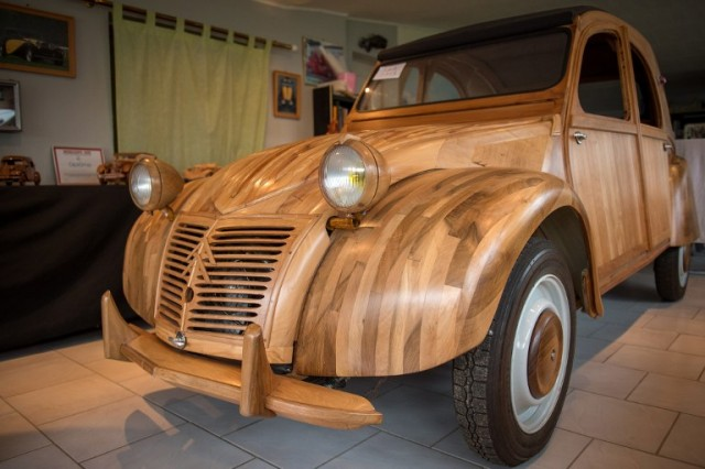 real car from wood2