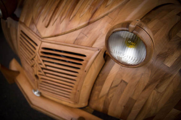 real car from wood4