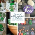 The art of pebble painting