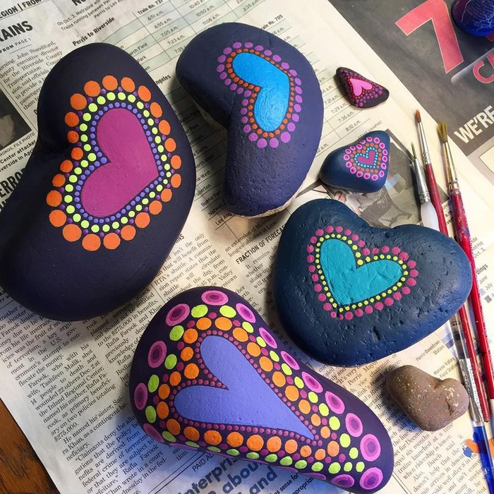 pebble painting ideas23