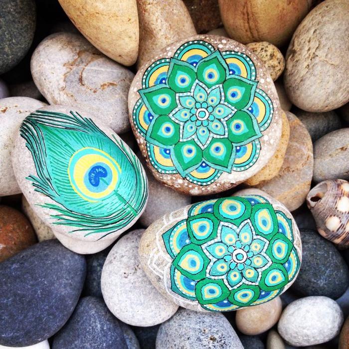 pebble painting ideas32