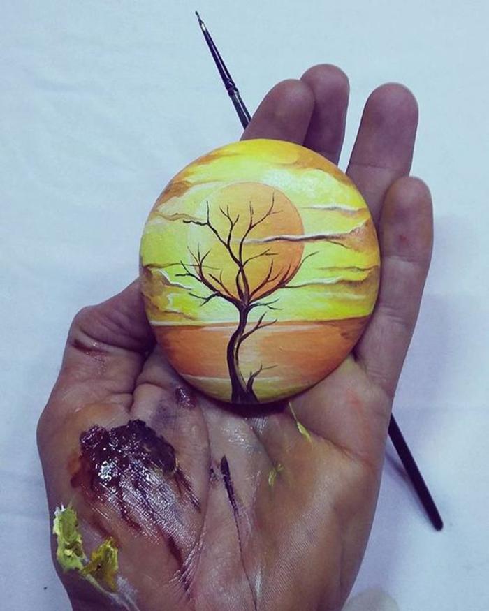 pebble painting ideas45