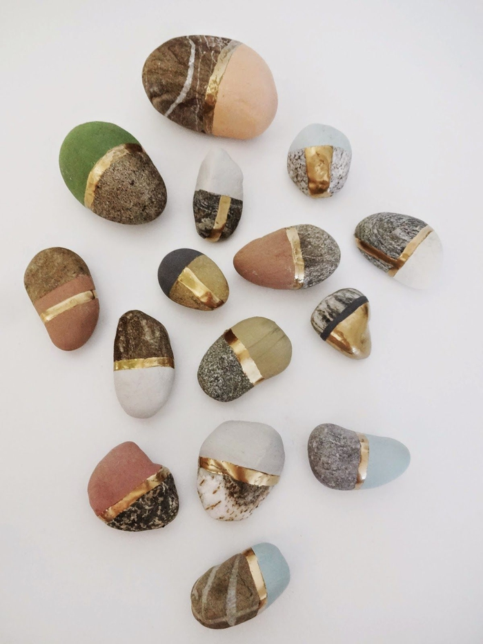 pebble painting ideas50