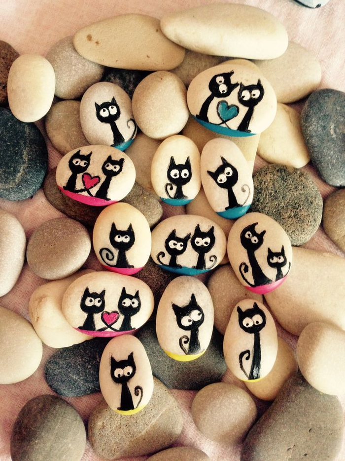 pebble painting ideas59
