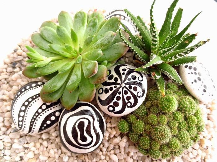 pebble painting ideas60