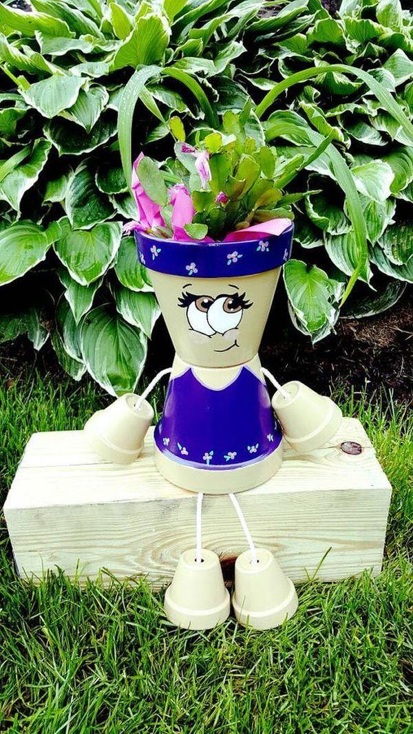 Decorations made of ceramic pots9