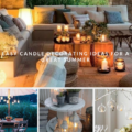 Easy candle decorating ideas for a great summer
