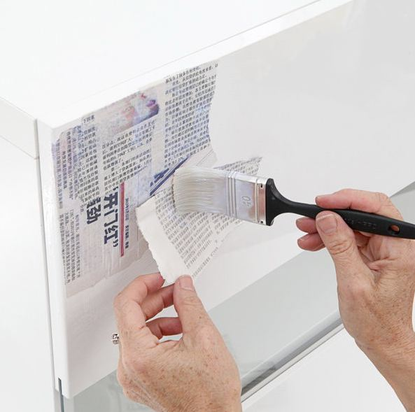 Easy Diy Furniture Decoupage From Newspapers My Desired Home