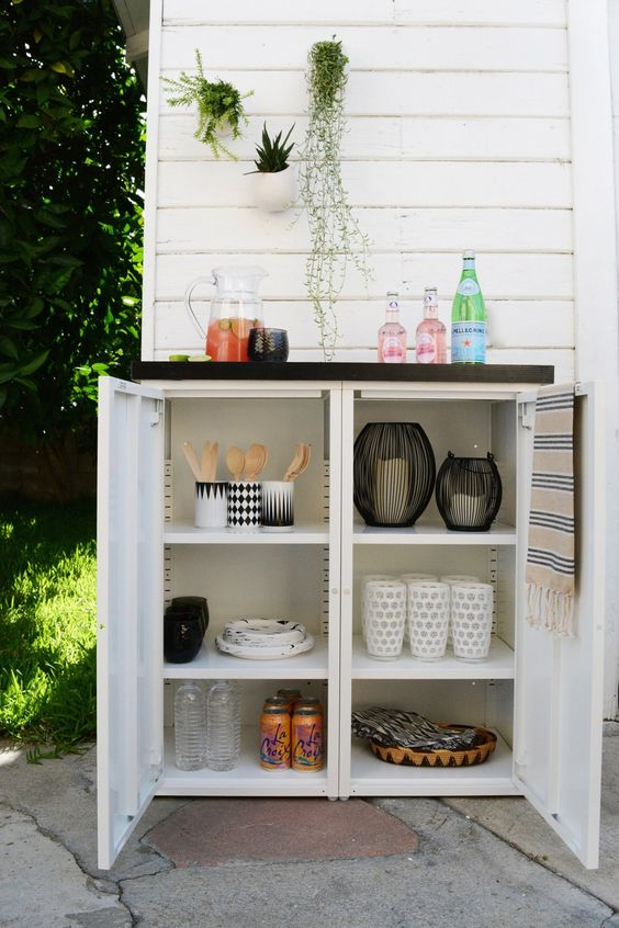 outdoor furniture ideas with storage solutions15