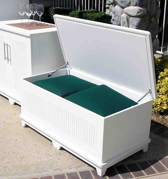 Garden Furniture With Storage smart outdoor furniture ideas with storage solutions | my desired home