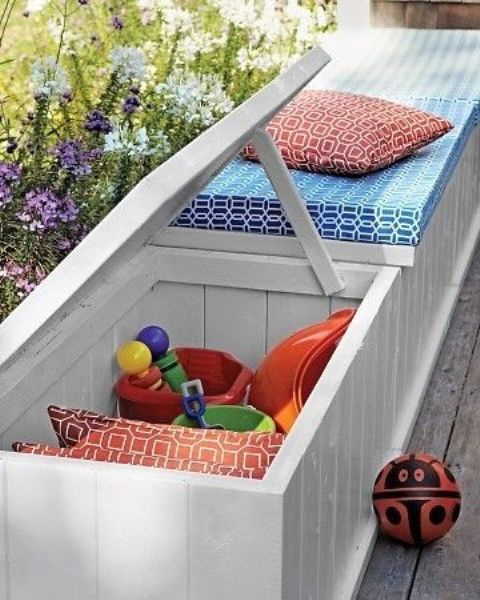 outdoor furniture ideas with storage solutions8