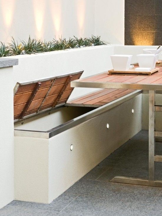 outdoor furniture ideas with storage solutions9