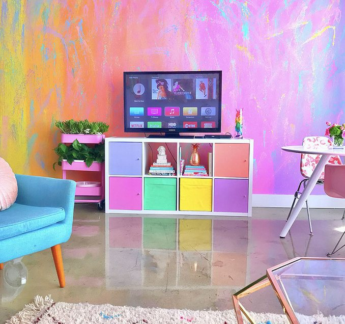 most colorful apartment5