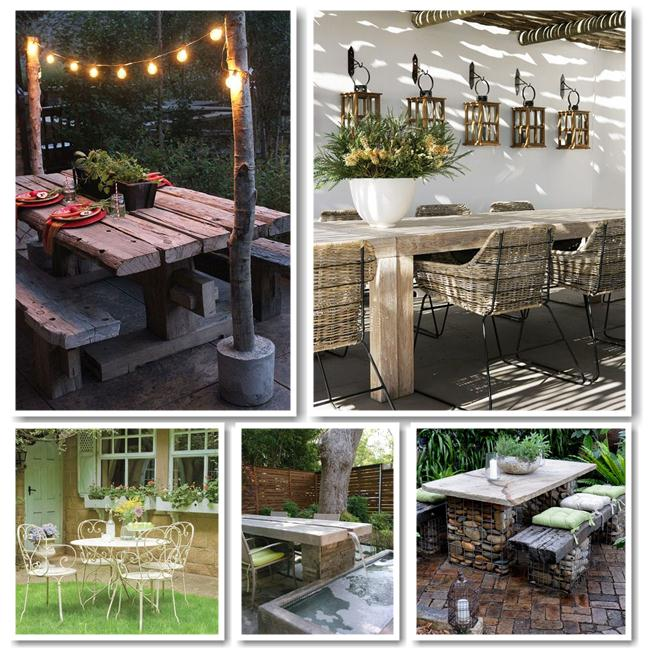 Beautiful outdoor dining area ideas my desired home for Beautiful dining area