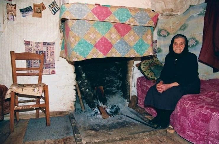 Nostalgic life in the Greek village1