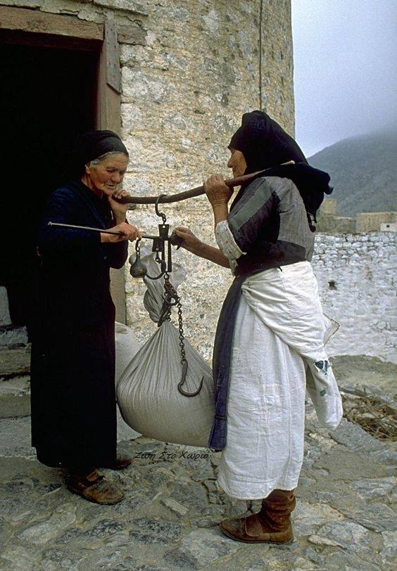 Nostalgic life in the Greek village10