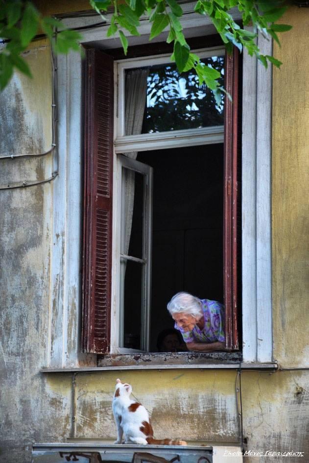Nostalgic life in the Greek village12