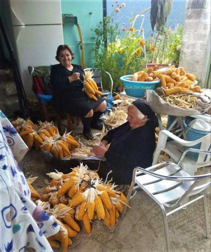 Nostalgic life in the Greek village26