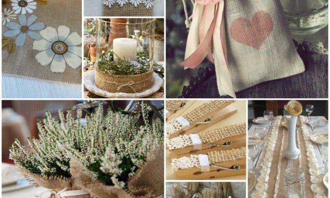 Cool decorating ideas with burlap and lace my desired home for Burlap and lace bedroom