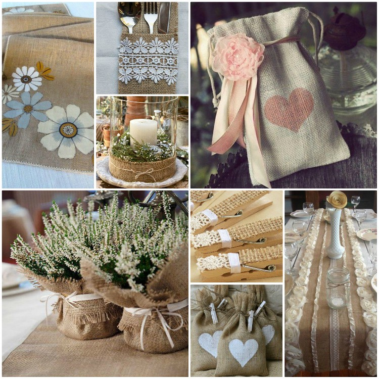 decorating ideas with burlap and lace (1)