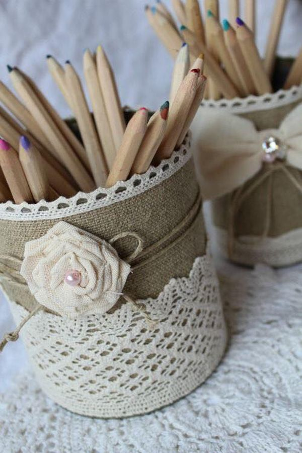 decorating ideas with burlap and lace (11)