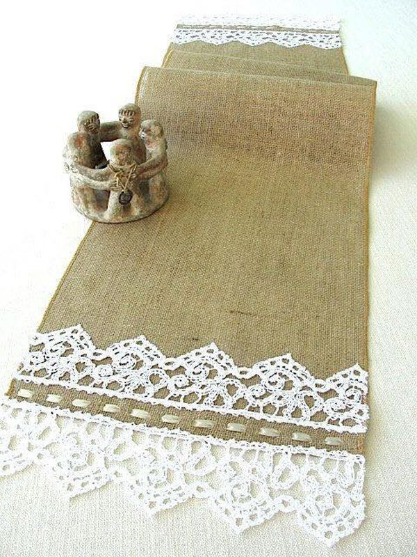 decorating ideas with burlap and lace (13)