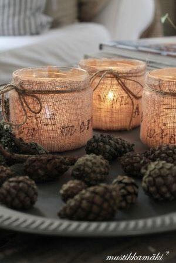 decorating ideas with burlap and lace (16)