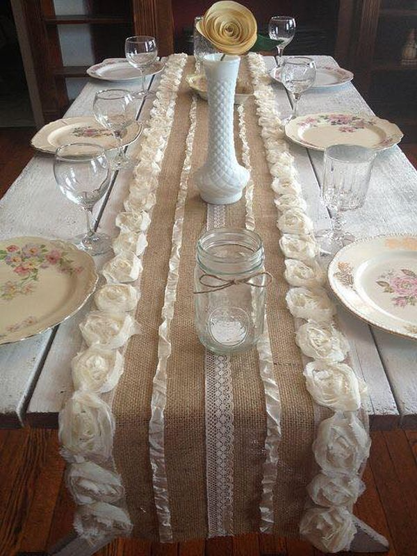 decorating ideas with burlap and lace (17)