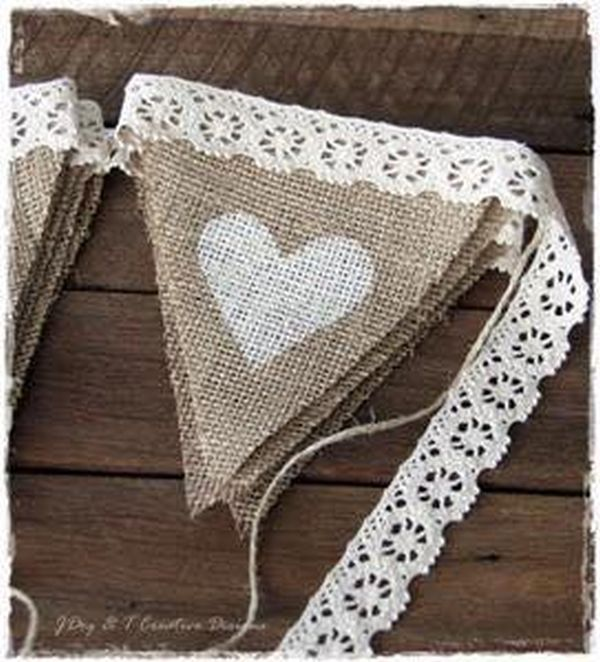 decorating ideas with burlap and lace (19)