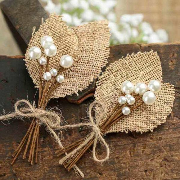 Cool Decorating Ideas With Burlap And Lace