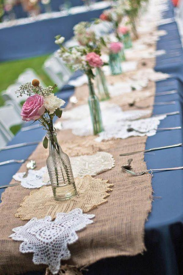 decorating ideas with burlap and lace (24)