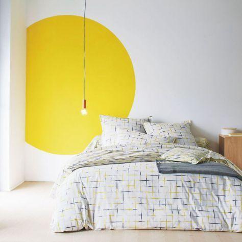 geometric shapes color wall deco14