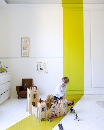 geometric shapes color wall deco19