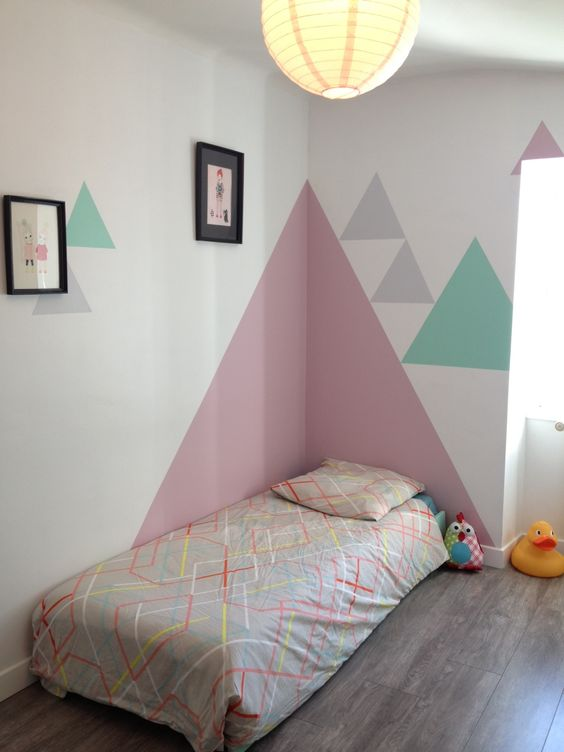 Strong Color Differences With Geometric Shapes My