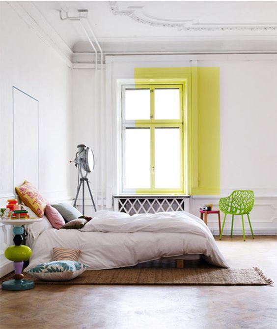 geometric shapes color wall deco6
