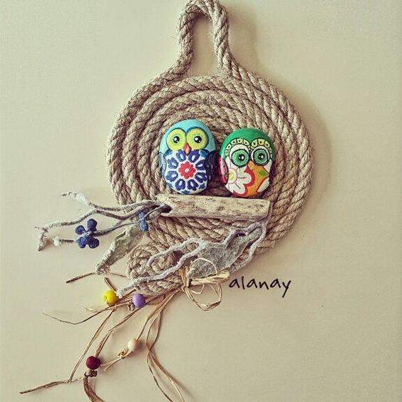 nique diy decoration ideas with rope (6)