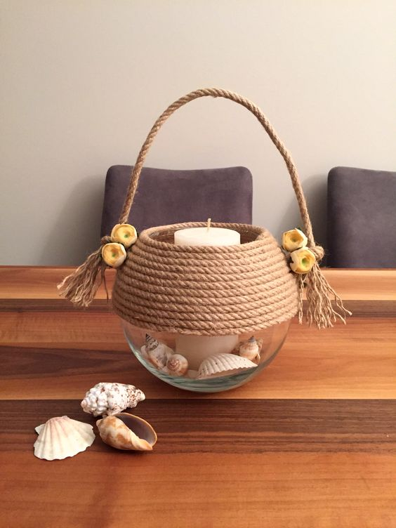 nique diy decoration ideas with rope (7)