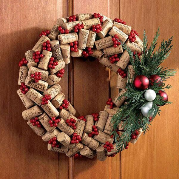 diy Christmas ornaments from corks (18)