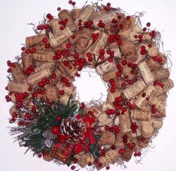 diy Christmas ornaments from corks (3)